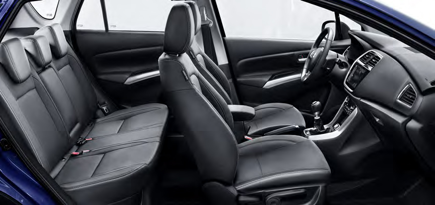 Suzuki S-Cross - en rymlig fyrhjulsdriven hybrid